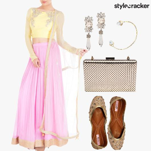 Indian Wedding Pastels Ethnic  - StyleCracker