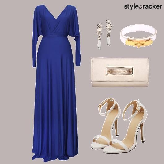 Gown Accessories Shoes Clutch - StyleCracker
