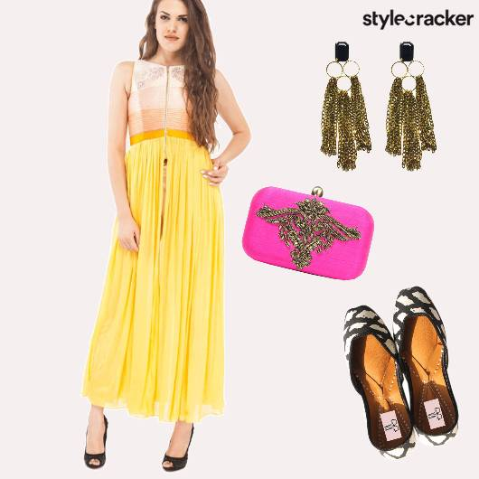 Indian Festive FrontSlit  - StyleCracker