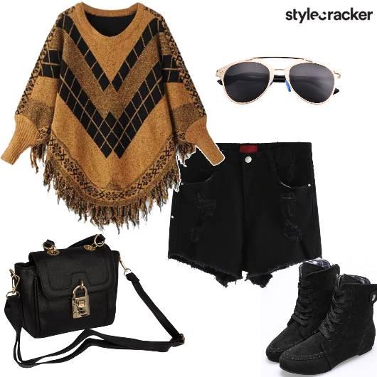 Batwing TasselSweater Winter College - StyleCracker