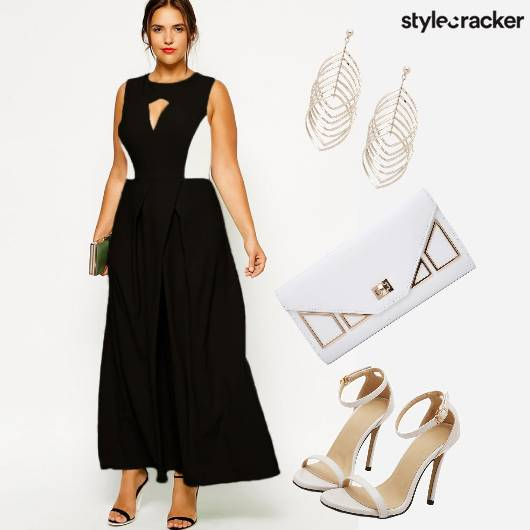 Party Dress Clutch StatementEarrings  - StyleCracker