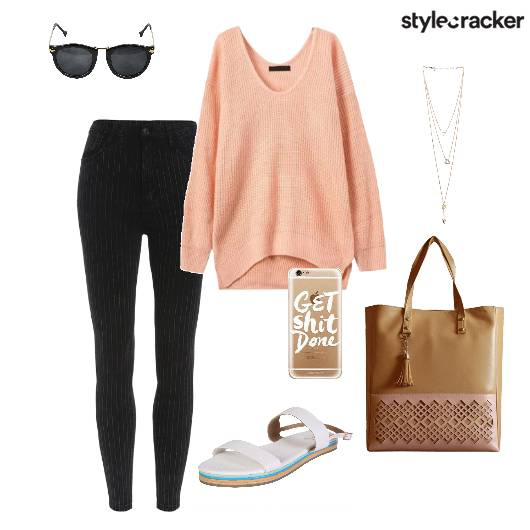 Sweater Casual Backtoschool Shoulderbag - StyleCracker