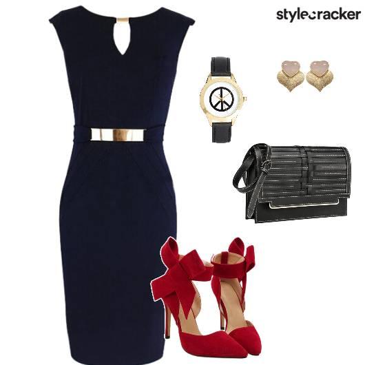 Bodycon Corporate Crossbodybag Stilletoes Classy - StyleCracker