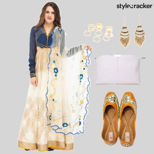 Indian Festive Bridal Shoes Clutch - StyleCracker