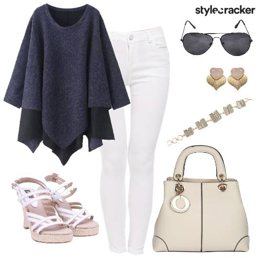 Winter WhitePants Classy Work DressedUp - StyleCracker