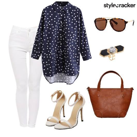 LunchwiththeLadies TanBag - StyleCracker
