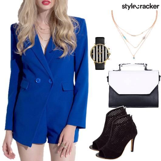 Playsuit Handbag Workwear  - StyleCracker
