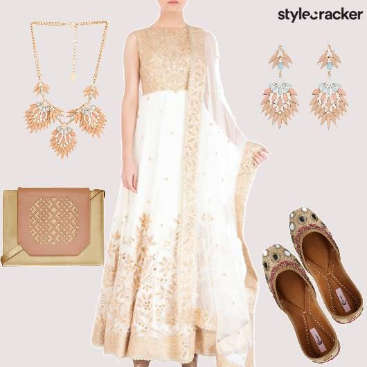 Ethnic Indian Anarkali  - StyleCracker