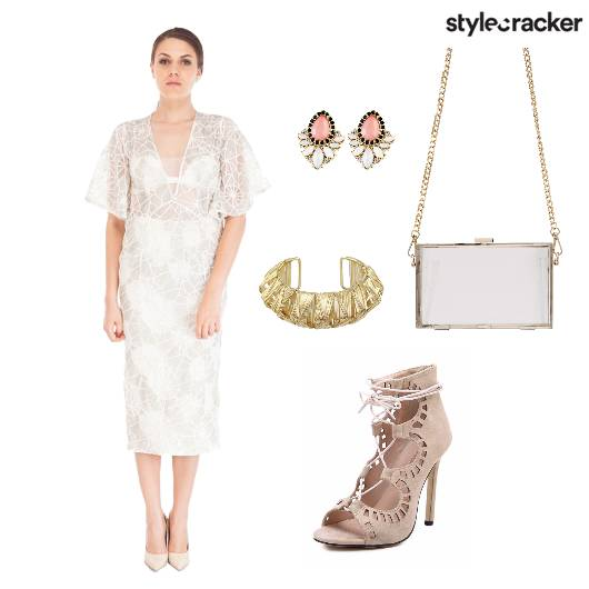 Dress Lace Shoes Bag Accessories - StyleCracker