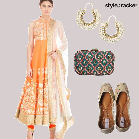 Anarkali Indian Festive  - StyleCracker
