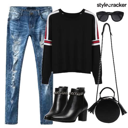 Top Sweater Bag Shoes - StyleCracker