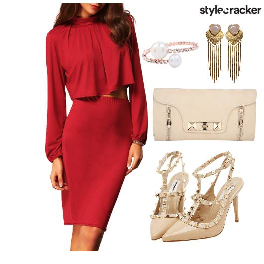 Dress  Party Dinner Clutch Shoes - StyleCracker