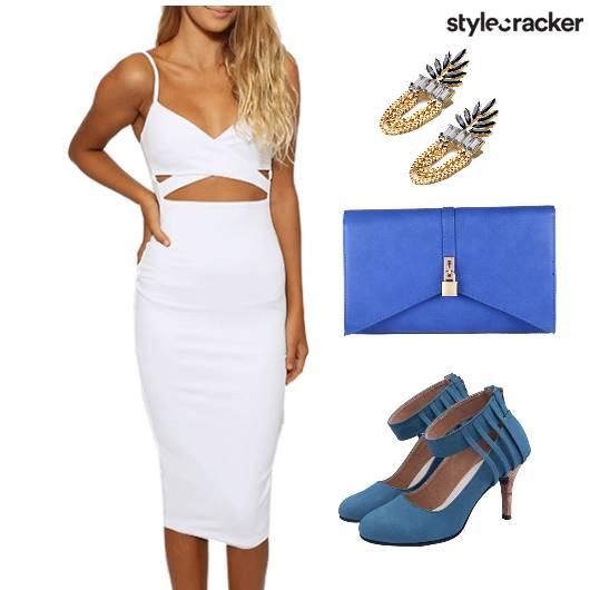 Dress Dinner Bag Clutch Shoes Accessories - StyleCracker