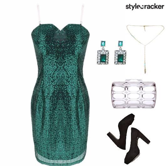 Party SequinedDress - StyleCracker