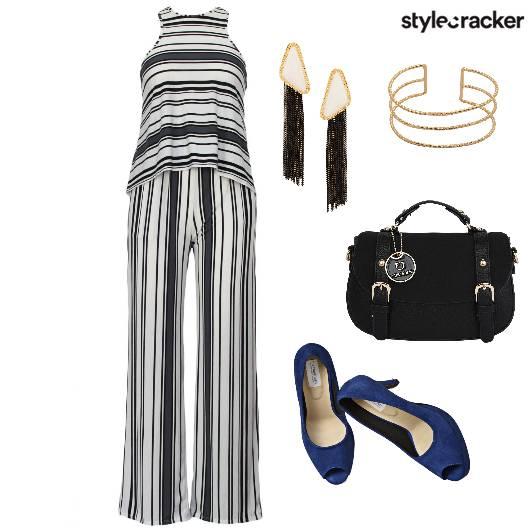 TwinSet Stripes PeepToes - StyleCracker
