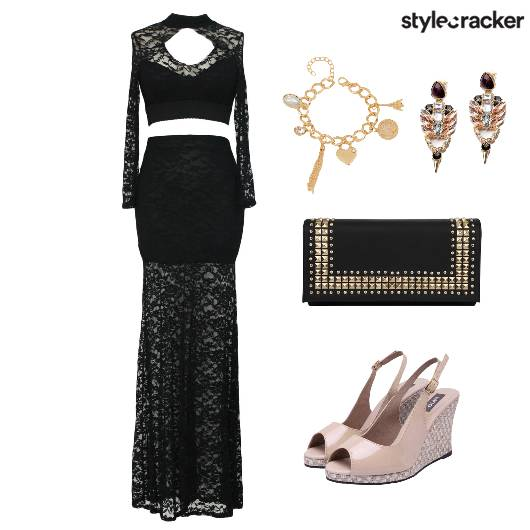 Dress Lace Party Accessories Shoes - StyleCracker