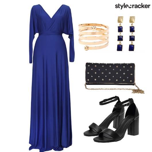 Dress Gown Shoes Bag - StyleCracker