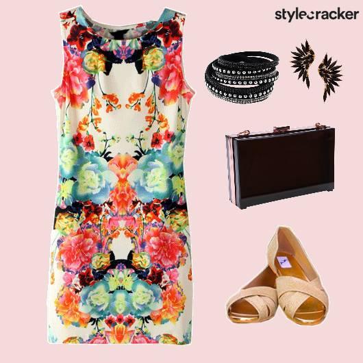Dress Print Shoes Bag Acccessories - StyleCracker