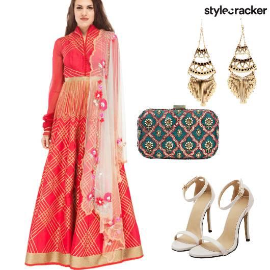 Anarkali Indian Festive  - StyleCracker