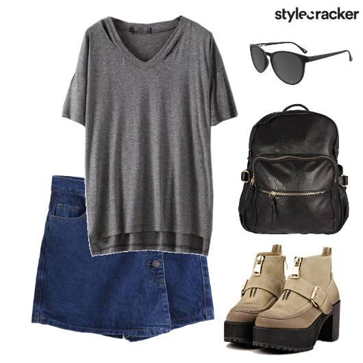 Outdoor Skort Travel - StyleCracker