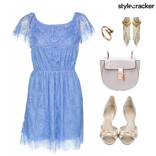 Lace Dress Bag Shoes Accessories - StyleCracker