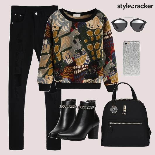 Top Casual Ripped Bag  - StyleCracker