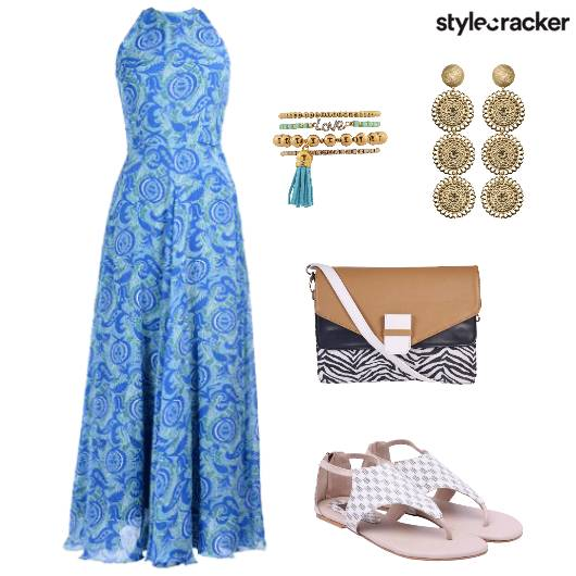 MaxiDress Casual Prints  - StyleCracker