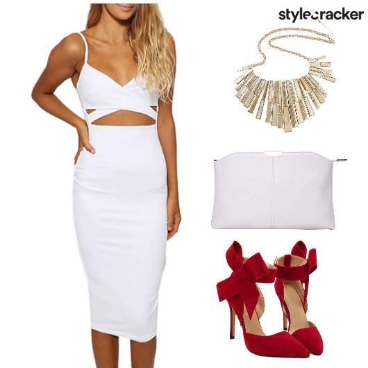 PartyReady CutOutDress Glam - StyleCracker