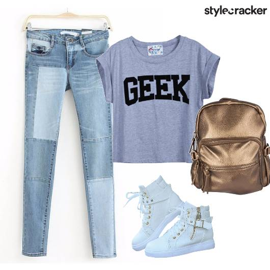 BacktoSchool BackPack Sneakers - StyleCracker