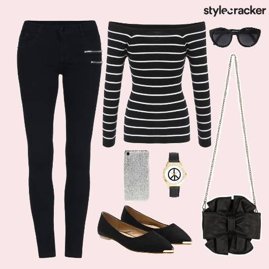 Top Casuals College Stripes  - StyleCracker