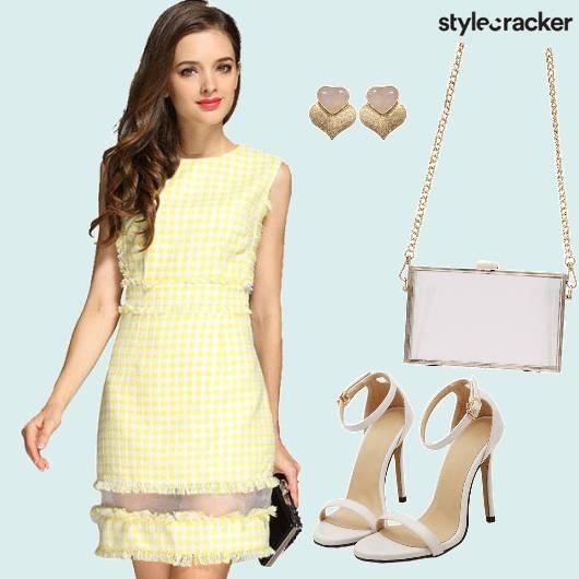 Gingham Dress  Brunch - StyleCracker