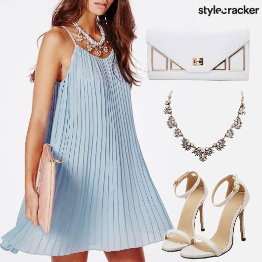 Flared Dress Pastel Party - StyleCracker