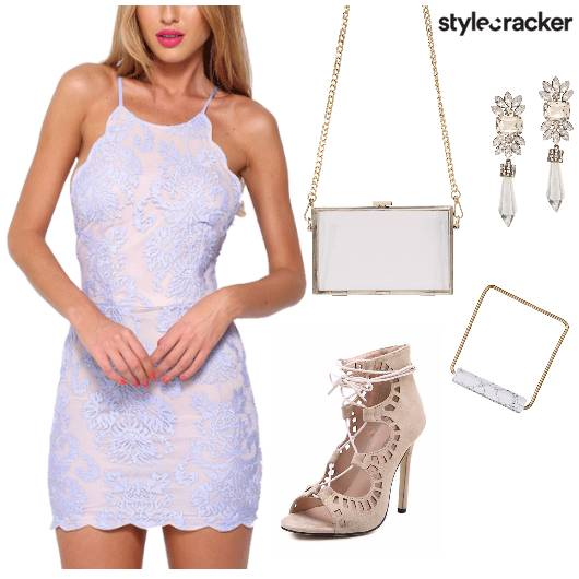 HalterNeck BodyCon Dress Party Night - StyleCracker