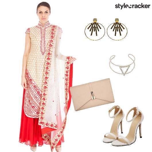 Suit Ethnic Stilettos  - StyleCracker