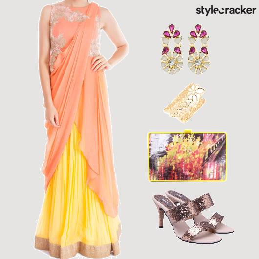 Ethnic Indian ConceptSari - StyleCracker
