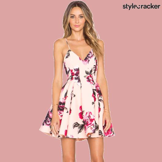 SCLoves Printed FloralDresses - StyleCracker