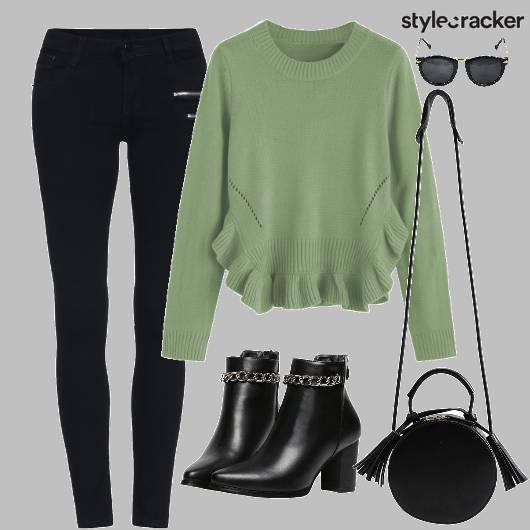 Sweater Pants Shoes Bag - StyleCracker