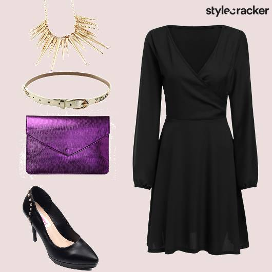 LBD EnvelopeClutch Party - StyleCracker