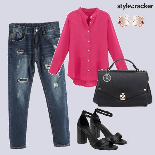 BrightShirt Denim Casual - StyleCracker