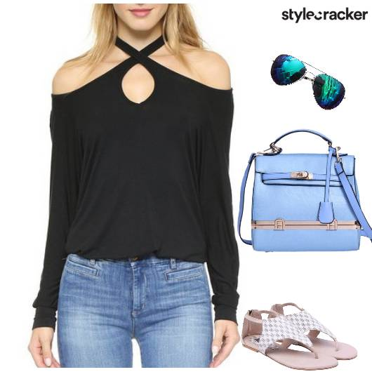 Top Jeans Crossbodybag  casual - StyleCracker