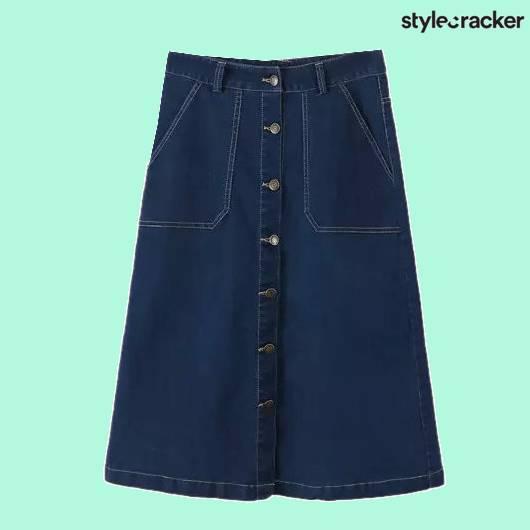 SCLoves Denim Skirt - StyleCracker