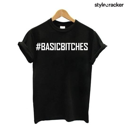 SCLoves BasicBlackTee - StyleCracker
