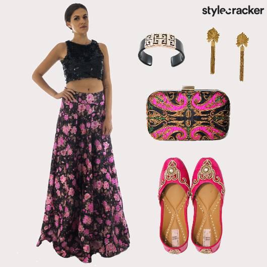 Indian Festive Floral  - StyleCracker