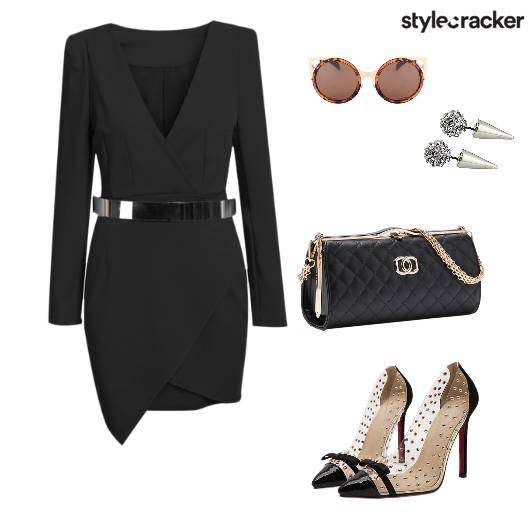Bodycondress Pumps Party Clutch - StyleCracker