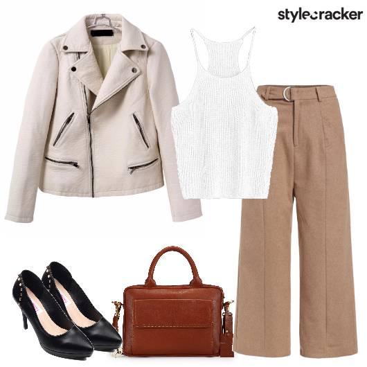 Flaredpants Jacket Workwear  - StyleCracker