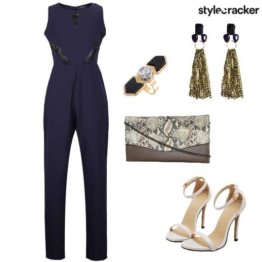 Jumpsuit Dinner SlingBag - StyleCracker