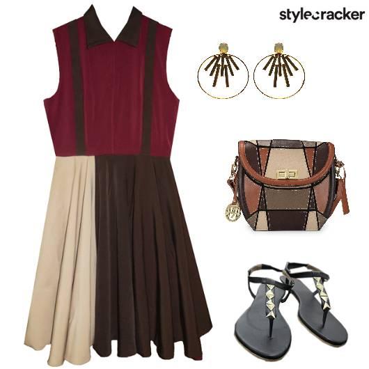 ColourBlock Casual DayOut  - StyleCracker