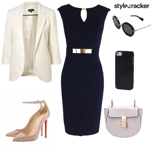 Blazer Bodycondress Pumps Crossbodybag work - StyleCracker