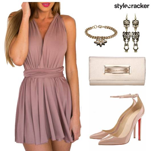 Dress Party Clutch Stilettos - StyleCracker