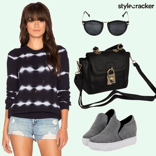 Shorts Shoes Sunglasses Sling - StyleCracker